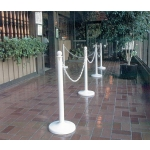 Plastic Chain 25Ft. White