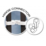 (White) Hinge Connector