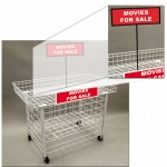 (Red) Impulse Table Sign Holder