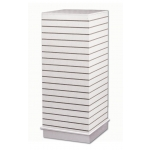 (White) Slatwall Cubical Displayer