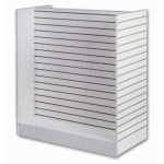 "(White) 48"" Slatwall H-Unit Displayer"