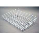 "(White) 15"" X 24"" Grid Basket"