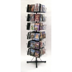 (Black) Multi-Capacity Dvd/Cd Spinner