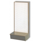 "24"" X 54""Gondola Unit (Tan/White Pegbrd)"