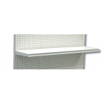 "(White) 24""W X 12""D Gondola Shelf"