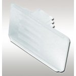 "2"" X 1.5"" Clear Plastic Scanner Plate"