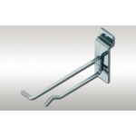 "4"" - Slatwall Scanner Hook (Chrome)"