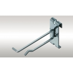 "9"" Gridwall Scanner Hook (Chrome)"