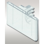 "2"" - Scanner Hook Pocket Label Holder"