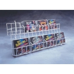 (Black) Universal-2 Tier Cd/Dvd Shelf