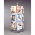 18 Pocket Greeting Card Counter Top Display