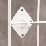 (Chrome) Grid Panel Wall Hook