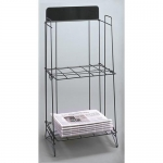 Broadsheet Rack (Black)