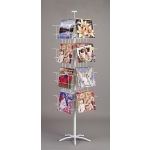 16 Pocket Calendar Display Spinner ( White )