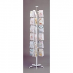 "Greeting Card 48 Pocket Spinning Rack ( 5-3/8"" )"