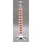44 Clipper Strip Spinner Rack (White)