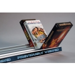 "***Closeout*** 48"" Aluminum Vhs Flick Tray Slat Shelf"