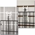 (Black) Grid / Slat Shelf Converter