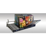 "(Black) 24"" Universal Flip'N Browse Shelf"