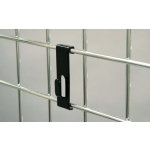 "(Chrome) Notch Hook / 3"" O.C. Gridwall"