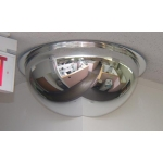 "26"" 270 Degree Corner Mirrored Dome"