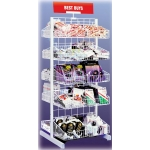 10 Basket Merchandiser (White)