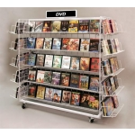 20 Shelf-Grid Island Display (Black)