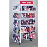 (Red) T-Display (15 Shelf)