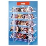 (Black) 20 Shelf-2Ft. Econo Display