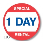 Lbl-Spcl 1 Day Rental(500/R)