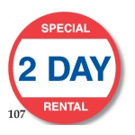 Lbl-Spcl 2 Day Rental(500/R)