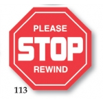 ***Closeout*** Please Stop Rewind (500/R)
