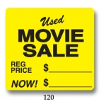 ***Closeout*** Used Movie Sale (500/R)