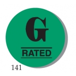 "Lbl-""G"" Rating 1"" (500/R)"