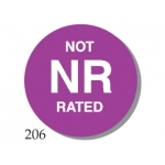 "Rating Lable ""Nr"" 1""(500/R)"