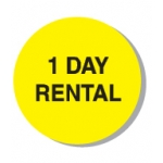 "Lbl-1 Day Rental-3/4"" (250/R)"