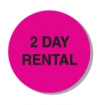 "Lbl-2 Day Rental-3/4"" (250/R)"