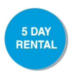 "Lbl-5 Day Rental- 3/4"" (250 Rl)"