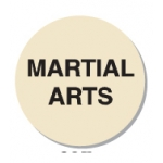 "Lbl-Martial Arts 3/4"" (250/R)"