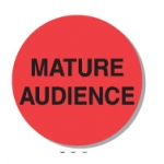 "Lbl-Mature Audience 3/4""(250/R)"