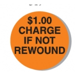 "Lbl-$1.00 Charge 3/4"" (250/R)"