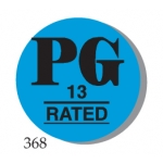 "Lbl-""Pg 13"" Rated 1"" (500/R)"