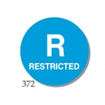"Lbl-""R"" Restricted 1"" (500/R)"