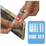 (Multi-Media) - Dvd/Cd Spine Label - 500 Per Roll
