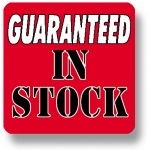 "***Closeout*** Lbl- Guaranteed In Stock 1"" Sq. (500 Rl)"