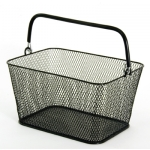 Mini Wire Mesh Baskets (Black)