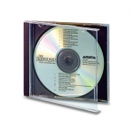 Clear Cd Jewel Case (Clear With Black Tray - 50 Pcs)