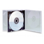 Double Jewel Case (Clear - 50 Pcs)