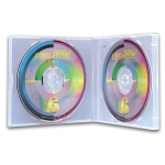 (Clear) Double-Super Clear Cd Poly Case (50 Pcs)