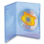 (Blue Tint) Dvd Case Full Sleeve (100 Pc)